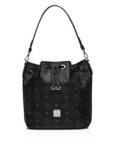 MCM - Visetos Crossbody Bucket Bag
