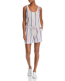Bella Dahl - Striped V-back Romper