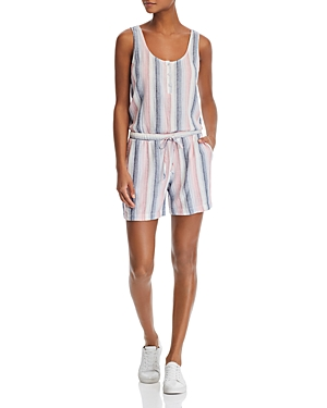 Bella Dahl Striped V-back Romper
