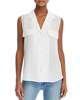 1d5c4f6740ac6d FRAME - True Sleeveless Silk Shirt FRAME - True Sleeveless Silk Shirt. Quick  View