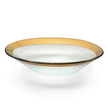 Annieglass - Roman Antique Oval Bowl