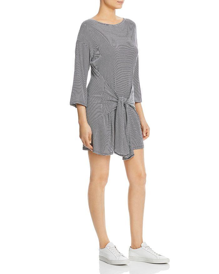 Elan - Tie-Front T-Shirt Dress