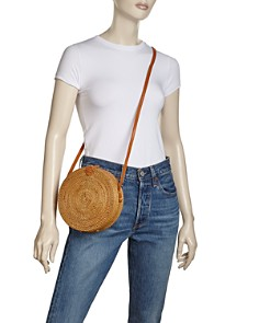Street Level - Circle Straw Crossbody