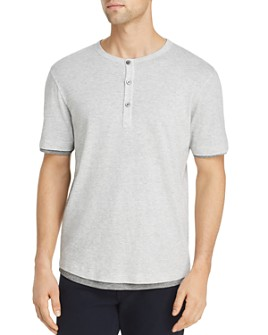 Theory - Double-Layer Henley - 100% Exclusive