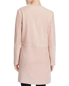 Calvin Klein - Faux-Suede Zip-Front Jacket
