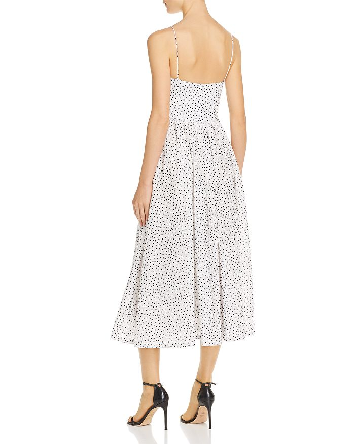 9a57a2e3 Bec & Bridge Miss Frenchie Dotted Midi Dress | Bloomingdale's