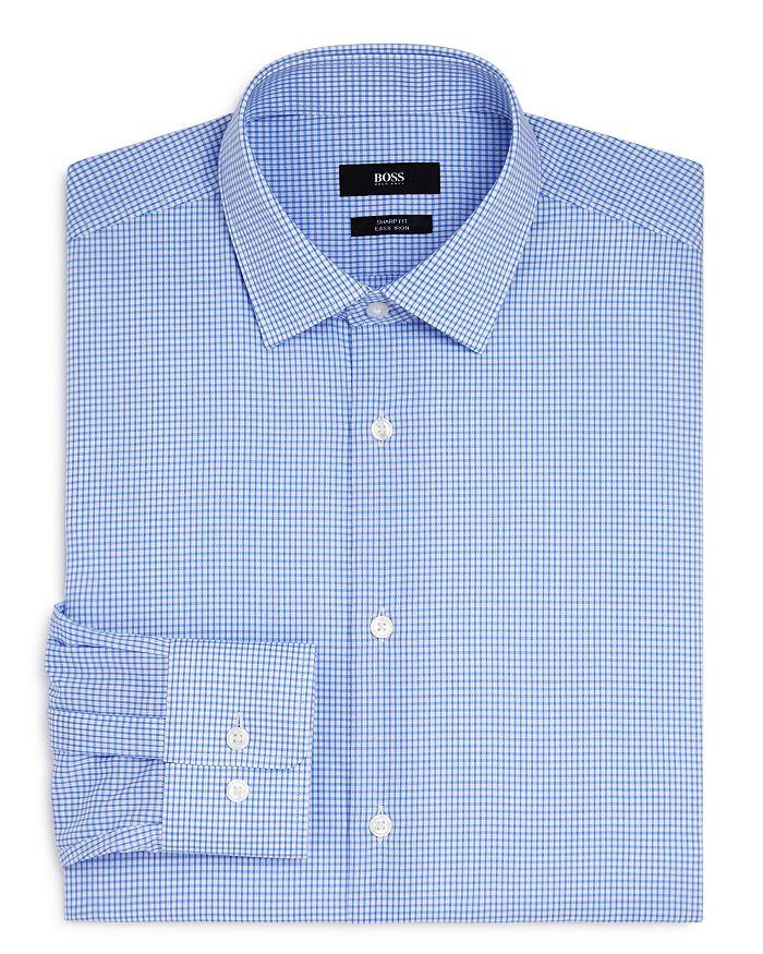 BOSS - Mini Check Regular Fit Dress Shirt
