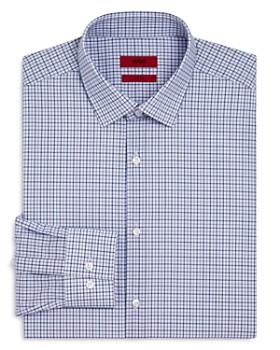 HUGO - Grid Slim Fit Dress Shirt