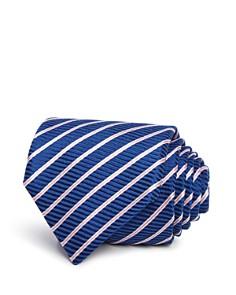 BOSS - Textured Stripe Silk Classic Tie