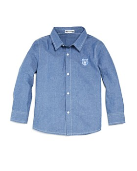 Mini Series - Boys' Chambray Shirt, Little Kid - 100% Exclusive