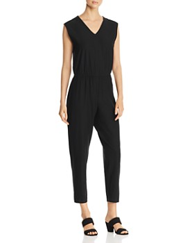 443e6fafc4be Eileen Fisher - Sleeveless V-Neck Jumpsuit ...
