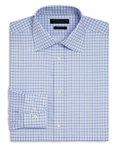 The Men's Store at Bloomingdale's - Overcheck Regular Fit Dress Shirt