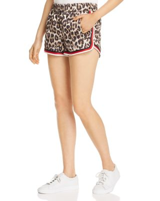 Dolphin Leopard Print Shorts by Pam &Amp; Gela