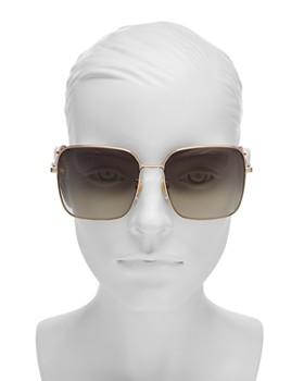 867884c192c ... 60mm Gucci - Women s Square Sunglasses