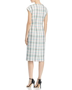 BOSS - Daela Plaid Sheath Dress
