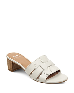 Marc Fisher Ltd. Women's Debora Woven Block Heel Sandals