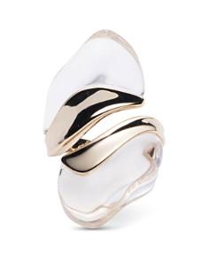 Alexis Bittar - Liquid Lucite Sculptural Ring