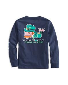 Vineyard Vines - Boys' Kiss Me I'm Irish Tee - Little Kid, Big Kid