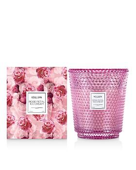 Voluspa - Rose Petal Ice Cream Hearth Candle