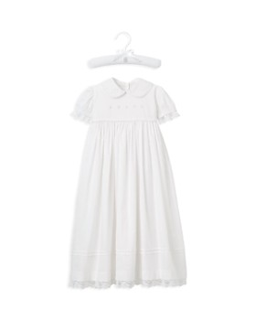 Elegant Baby - Girls' Christening Gown & Bonnet Set - Baby
