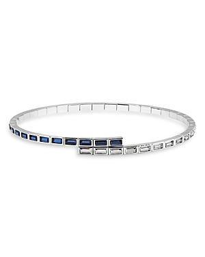 Atelier Swarovski Core Collection Fluid Azzurro Skinny Choker Necklace, 11