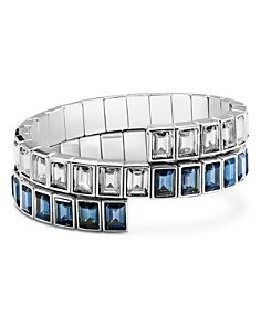 Atelier Swarovski - Core Collection Fluid Azzurro Wrap Bracelet