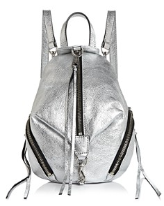 Rebecca Minkoff - Julian Mini Metallic Convertible Backpack