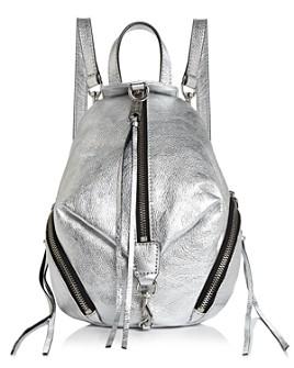 Rebecca Minkoff - Julian Mini Metallic Convertible Backpack