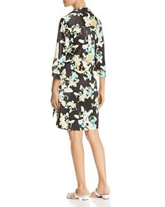 Kenneth Cole - Floral-Print Faux-Wrap Dress