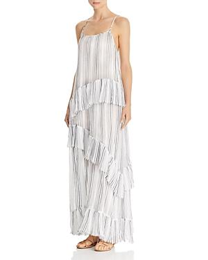 Atm Anthony Thomas Melillo Dresses STRIPED MAXI SLIP DRESS