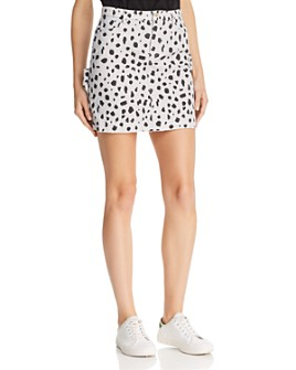 ATM Anthony Thomas Melillo - Cheetah-Print Mini Skirt