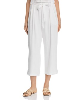 Re:Named - Evie Cropped Tie-Detail Pants