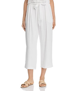 Re: Named Evie Cropped Tie-Detail Pants