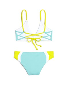 L*Space - Girls' Haley Color-Block Two-Piece Swimsuit - Little Kid, Big Kid