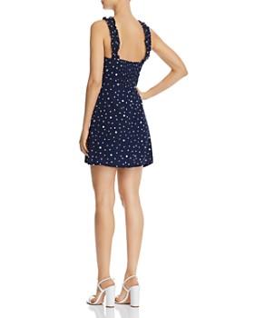 ce6700426578 ... AQUA - Polka Dot Mini Dress - 100% Exclusive
