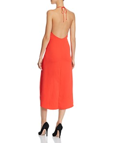 Alice and Olivia - Kristy High/Low Halter Dress