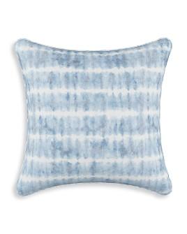 "Sparrow & Wren - Chalet Shibori Copen Blue Down Pillow, 20"" x 20"""