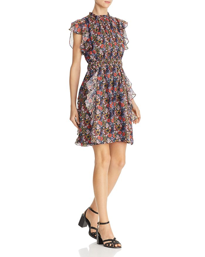 Shoshanna - Amora Floral Silk Dress