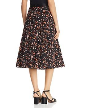 Kobi Halperin - Debbie Printed-Silk Skirt