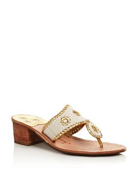 Jack Rogers - Women's Jacks Block Heel Thong Sandals