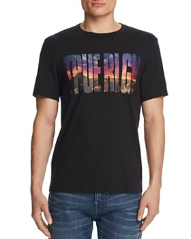 True Religion - Embroidered Photo Logo Graphic Tee
