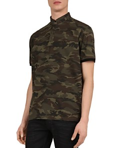 The Kooples - Camo Slim Fit Polo Shirt
