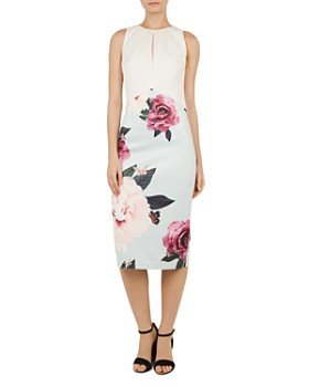 Ted Baker - Annile Magnificent-Print Dress
