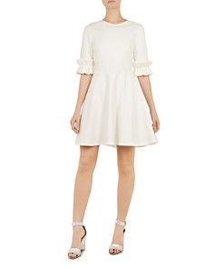 Ted Baker -  Ritzi Ruffle-Trimmed Dress