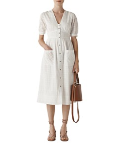 Whistles - Plaid Midi Dress