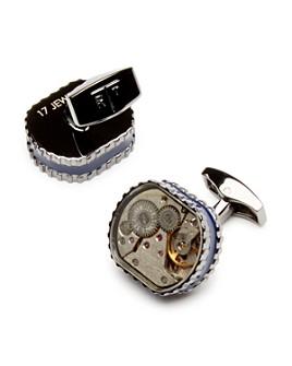 Tateossian - Men's Tonneau Gear Cufflinks