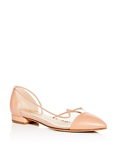 Charlotte Olympia - Women's d'Orsay Pointed-Toe Flats