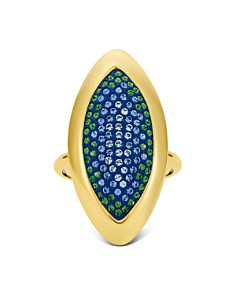 Atelier Swarovski - by Themis Zouganeli Evil Eye Cocktail Ring