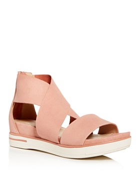 Eileen Fisher - Women's Sport Crisscross Wedge Platform Sandals