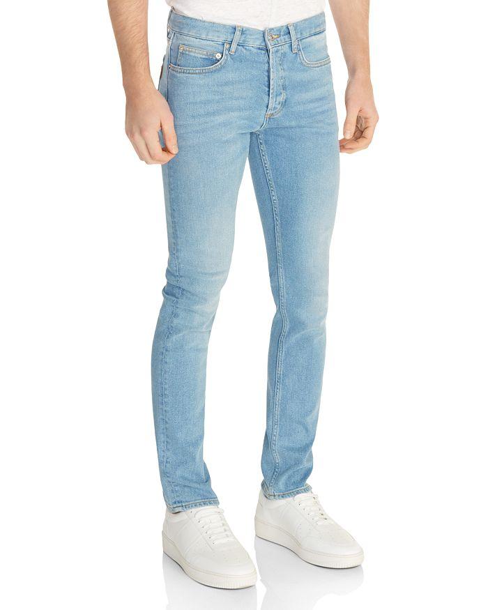 Sandro - Washed Slim Jeans in Blue Vintage